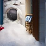 washer over flowing