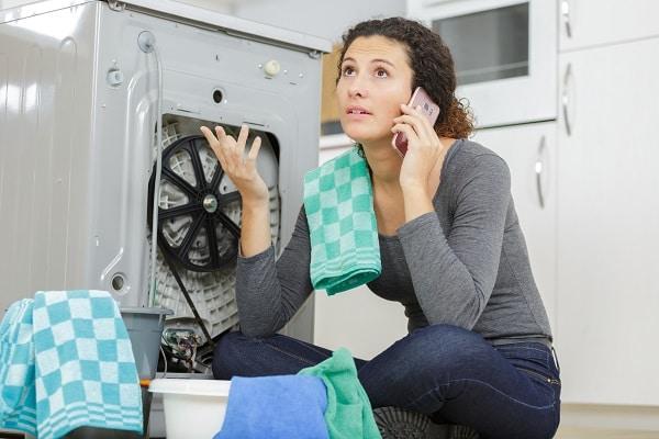 ge washer not draining