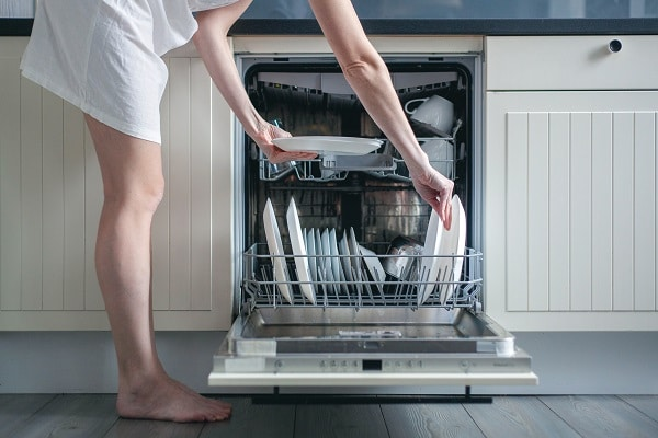 lg dishwasher won't start